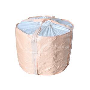 フレコンバッグ 500kg用 10枚入 丸型ハーフサイズ バージン原料100% コンテナバッグ|oochi-works