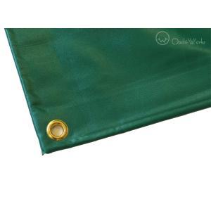 トラックシート 4t用 3.5m×7.0m エステル帆布製 荷台シート 荷台カバー|oochi-works