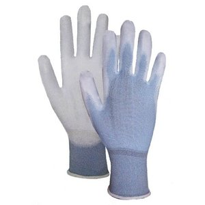 ウレタン手袋 10双パック Lサイズ COVER WORK あおピタッ  FS-1211-1P 送料無料|oochi-works