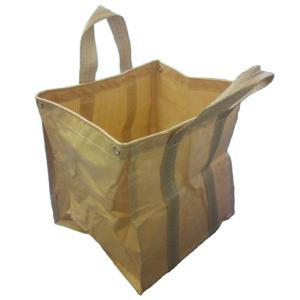 ガーデニングゴミ袋 自立式フゴ 1枚 万能バスケット ごみ袋  サイズ:55cm×55cm×高さ60...