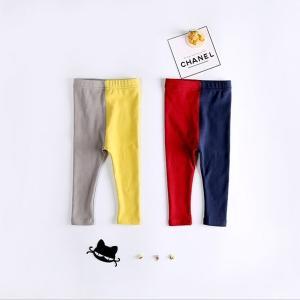 ◆素材 綿  ◆サイズ 80cm,90cm  全2色  カラフルで可愛いキッズ用レギンス。 ストレッ...