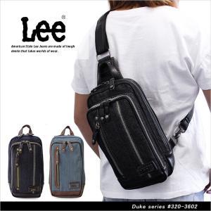 リー Lee ボディバッグ/ワンショルダーバッグ デューク Duke 320-3602|ookawabag