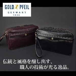 ゴールドファイル GOLDPFEIL セカンドバッグ メンズ  オックスフォード 901203|ookawabag