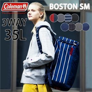 Coleman COLORS 3WAYBOSTON SM コールマン カラーズ 3WAYボストン エスエム 35L ボストンバッグ リュックサック ショルダーバッグ メンズ レディース|ookawabag