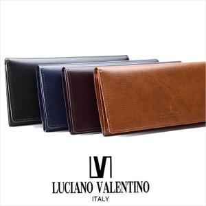 長財布 メンズ 本革 ルチア--ノ バレンチノ LUCIANO VALENTINO 財布 サイフ LUV-8001 メール便対応商品 返品交換不可|ookawabag