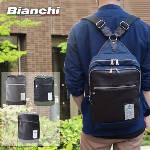 d548d111360f ビアンキ Bianchi 2WAYリュックサック リュック デイパック ボディバッグ ワンショルダーバッグ メンズ レディース NBCI08