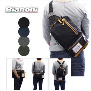 ビアンキ Bianchi 4WAYショルダーバッグ/ボディバッグ/リュックサック/クラッチバッグ NBTC49|ookawabag