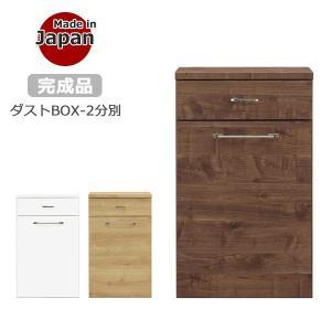 《国産ダストボックス 2BOX》 【サイズ】幅54.9cm×奥行き44.4cm×高さ92.5cm 【...