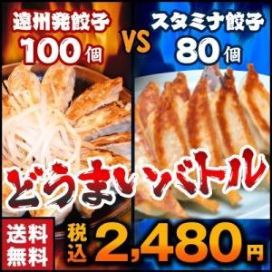 餃子 お取り寄せ 遠州餃子100個VSスタミナ餃子80個 送...