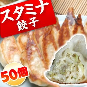 スタミナ餃子 お得50個 ニンニク3倍 お取り寄せ グルメ