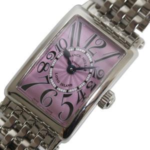 フランクミュラー FRANCK MULLER ロングアイランド プティ 802QZ クォーツ レディース 腕時計(中古)|ookura7815