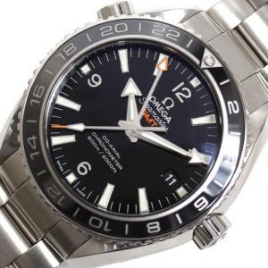オメガ OMEGA シーマスター プラネットオーシャン GMT 232.30.44.22.01.001 自動巻き ブラック メンズ 腕時計(未使用)|ookura7815
