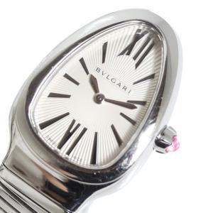 ブルガリ BVLGARI セルペンティ SP35S バングルウォッチ シルバー クォーツ レディース 腕時計(中古)|ookura7815