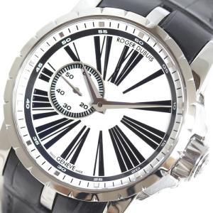ロジェ・デュブイ ROGER DUBUIS エクスカリバー DBEX0262 ホワイト 自動巻 メンズ 腕時計(中古)|ookura7815