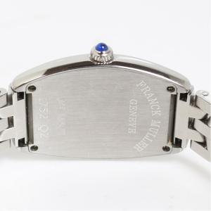 フランク・ミュラー FRANCK MULLER トノウカーベックス 1752QZ ピンク クォーツ レディース 腕時計(中古)|ookura7815|03
