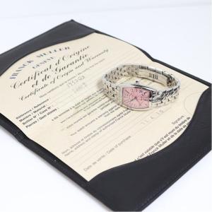 フランク・ミュラー FRANCK MULLER トノウカーベックス 1752QZ ピンク クォーツ レディース 腕時計(中古)|ookura7815|04