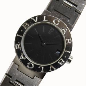 ブルガリ BVLGARI ブルガリブルガリ BB23SS クォーツ ブラック レディース 腕時計(中古)|ookura7815