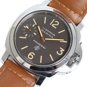 パネライ PANERAI ルミノール マリーナ ロゴ アッチャイオ PAM00362 手巻き 44mm メンズ 腕時計(中古)|ookura7815