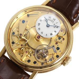 ブレゲ Breguet クラシック・トラディション 7037BA/11/9V6 金無垢 自動巻き メンズ 腕時計(中古)|ookura7815