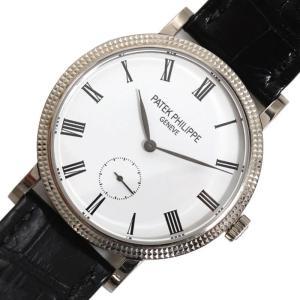 パテック・フィリップ PATEK PHILIPPE カラトラバ 7119G-010 手巻き WG無垢 レディース 腕時計(中古)|ookura7815