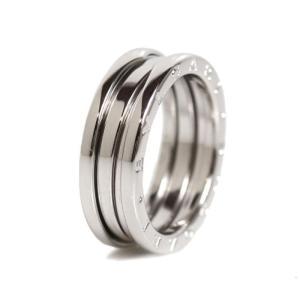 ブルガリ BVLGARI B.ZERO1 リング K18WG ビーゼロワン メンズ 指輪 ジュエリー(中古)|ookura7815