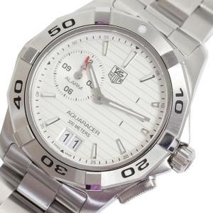 タグ・ホイヤー TAG HEUER アクアレーサー グランドデイト WAP111Y.BA0831 クォーツ メンズ 腕時計(中古)|ookura7815