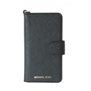 マイケルコース MICHAEL KORS iPhone7 iPhone8ケース 32S7GE7L4L ブラック レディース (未使用) ookura7815