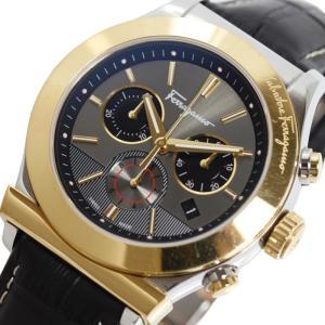フェラガモ Salvatore Ferragamo 【1898クロノグラフ】 FFM120016 コンビ クォーツ メンズ 腕時計 【おお蔵】|ookura7815