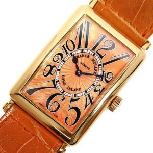 フランクミュラー FRANCK MULLER ロングアイランド 1000SC 自動巻き 金無垢 オレンジ メンズ 腕時計(中古)|ookura7815