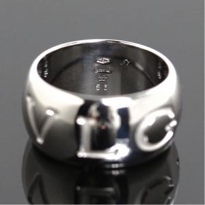 ブルガリ BVLGARI モノロゴ リング K18WG レディース 約12号 指輪 ジュエリー(中古)|ookura7815|04