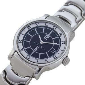 ブルガリ BVLGARI ソロテンポ ST29S クォーツ ブラック レディース 腕時計(中古)|ookura7815