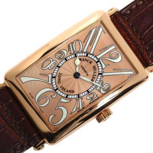フランクミュラー FRANCK MULLER ロングアイランド 1000SC 自動巻き PG無垢 メンズ 腕時計(中古)|ookura7815