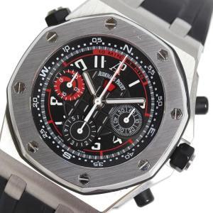 オーデマ・ピゲ AUDEMARS PIGUET ロイヤルオーク オフショア クロノグラフ アリンギポラリス26040ST.OO.D002CA.01 自動巻き メンズ 腕時計 (中古)|ookura7815