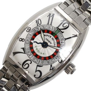 フランクミュラー FRANCK MULLER ヴェガス 5850VEGAS 自動巻き シルバー メンズ 腕時計(中古)|ookura7815