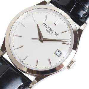 パテック・フィリップ PATEK PHILIPPE カラトラバ 5296G-010 WG無垢 自動巻き メンズ 腕時計(中古)|ookura7815