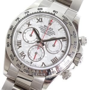 ロレックス ROLEX コスモグラフ・デイトナ 116509 WG無垢 メテオライト D番 自動巻き メンズ 腕時計(中古)|ookura7815