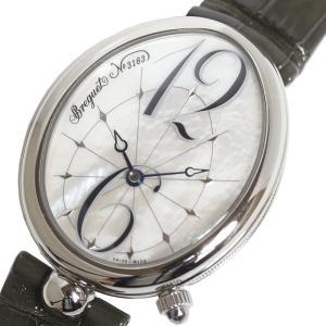 ブレゲ Breguet クイーン・オブ・ネイプルズ G8967ST/58986 自動巻き マザーオブパール レディース 腕時計(中古)|ookura7815