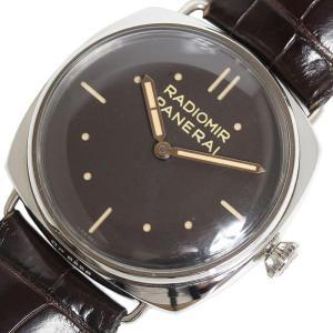 パネライ PANERAI ラジオミール 3デイズ プラティーノ PAM00373 プラチナ 手巻き メンズ 腕時計(中古)|ookura7815