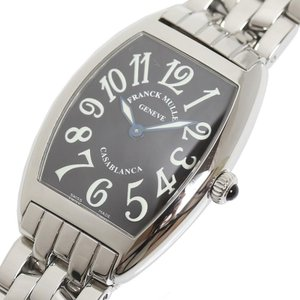 フランクミュラー FRANCK MULLER カサブランカ 1752QZC ブラック クォーツ レディース 腕時計(中古)|ookura7815