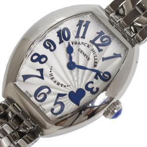 フランクミュラー FRANCK MULLER ハート トゥ ハート  5002SQZC4H ブルー クォーツ レディース 腕時計(中古)|ookura7815