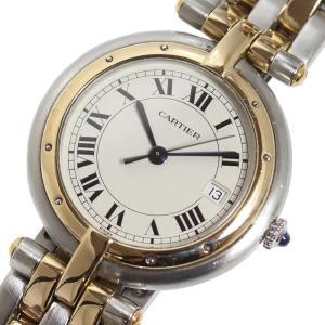 カルティエ Cartier パンテール ヴァンドームLM 2ロウ YG/SS クォーツ メンズ レディース 腕時計(中古)|ookura7815