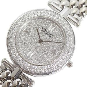 ヴァンクリーフ&アーペル Van Cleef & Arpels スポーツ2 33107B2P WG無垢 ダイヤベゼル×文字盤ダイヤ クォーツ メンズ レディース 腕時計(中古)|ookura7815
