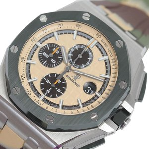 オーデマ・ピゲ AUDEMARS PIGUET ロイヤルオークオフショア クロノグラフ 6400SO.OO.A054CA.01 カモフラージュ 自動巻き メンズ 腕時計 (未使用)|ookura7815
