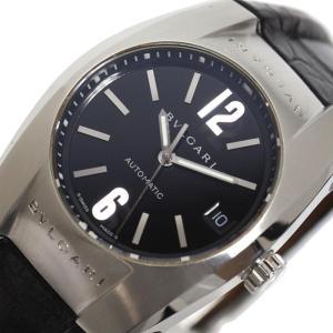 ブルガリ BVLGARI エルゴン EG35S 自動巻き ブラック メンズ レディース 腕時計(中古)|ookura7815