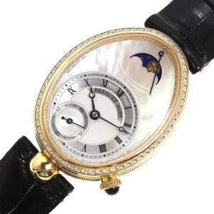 ブレゲ Breguet クイーン・オブ・ネイプルズ 8908BA/52/864D00D 自動巻き 金無垢レディース 腕時計 (中古)|ookura7815