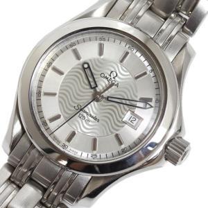 オメガ OMEGA シーマスター120M 2571.31 シルバー クォーツ レディース 腕時計(中古)|ookura7815