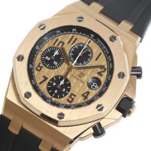 オーデマ・ピゲ AUDEMARS PIGUET ロイヤルオーク オフショアクロノ 26470OR.OO.A002CR.01 PG無垢 自動巻 メンズ 腕時計(中古)|ookura7815
