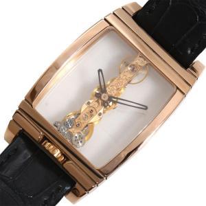 コルム CORUM ゴールデンブリッジ 113.550.55 手巻き PG無垢 スケルトン メンズ 腕時計(中古)|ookura7815