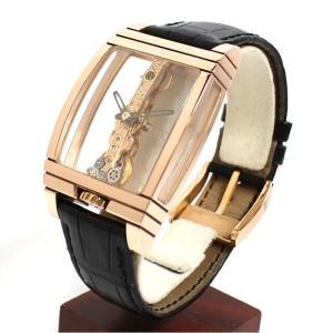 コルム CORUM ゴールデンブリッジ 113.550.55 手巻き PG無垢 スケルトン メンズ 腕時計(中古)|ookura7815|03