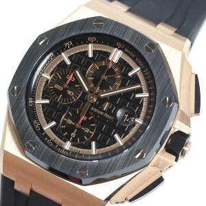 オーデマ・ピゲ AUDEMARS PIGUET ロイヤルオーク オフショア クロノグラフ 26401RO.OO.A002CA.02 PG無垢 自動巻き メンズ 腕時計(中古)|ookura7815
